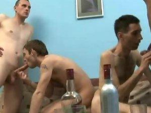 Drunk Gay Fuck Party