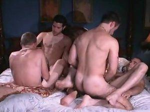 Nasty Gay Bear Orgy