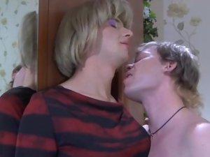 Roland and Silvester kinky gay crossdresser movie