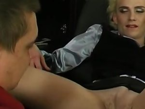 Randolph and Dan sissy gay on video