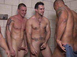 Football DL Part 3 - TRAILER- Adam Bryant, Cameron Foster, Darin Silvers and Robert Axel - JO - Jizz Orgy