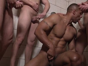 Football DL Part 3 - TRAILER- Adam Bryant, Cameron Foster, Darin Silvers and Robert Axel - JO - Jizz Orgy