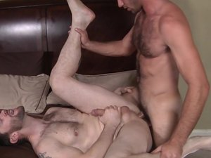 Naughty Boys Part 2 - TRAILER- Dennis West and Jimmy Fanz - STG - Str8 to Gay