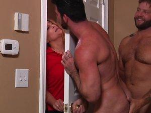 Stealth Fuckers Part 1 - PHOTOS - Colby Jansen & Billy Santoro - STG - Str8 to Gay