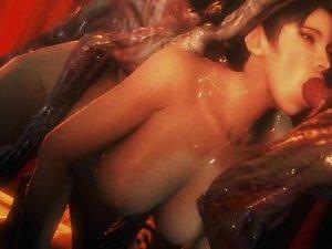 3d porn Kunoichi 2 (bonus) Beastly Bacchanalia
