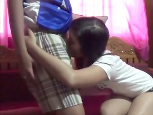 Cute Filipina and BF make private video