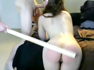 Sexy bitch gets her ass spanked