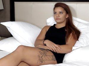 Amber. Porn casting video