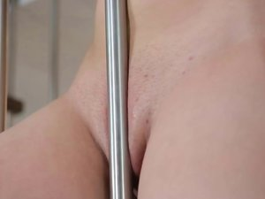 Teen Busty Buffy shows off extreme boobs