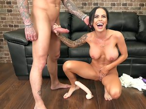 Hot Sex with Tattooed Brandy Aniston LIVE