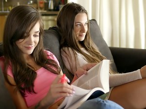 Gia Paige & Cassidy Klein - Sister's Share Everything