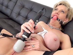 HUGE Squirting Bondage Orgasms!