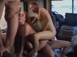 extreme bangbus anal orgy