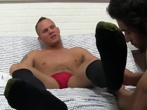 Mob Loanshark Austin Foot Worshiped - Austin Andrews