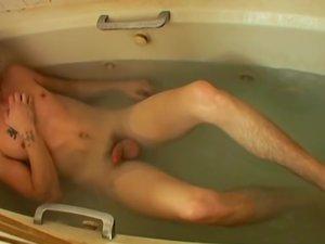 Straight Boy Foot Play In The Bathroom - Blinx