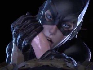 3d porn Batman and his bitches