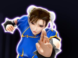 Street Fighter Li disgrace bondage