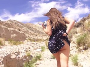 Dani Daniels and James Deen Have Sex in the Desert