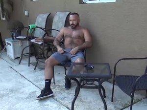 Mario Cruz Barebacks Daddy Alessio Romero