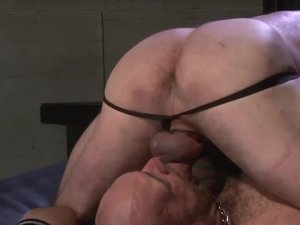 Peter Axel and Carl Barnes Bareback Flip Fuck