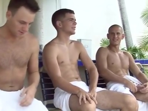 Jacques Luvire with Blake Savage and Evan Heart