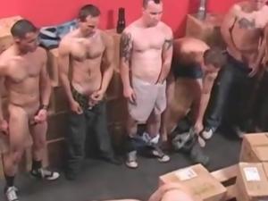 15 man Orgy Scene