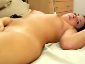 Cumming on my girlfriend small but perky titties