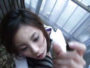 Natsumi Mitsu craves to devour this tasty cock