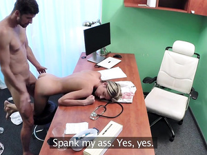 Shy Russian Cured by Cock Treatment