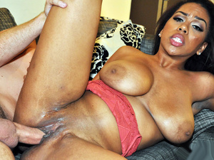 Ebony Sex Tapes – Katt's Sloppy BJ Buys Clothes