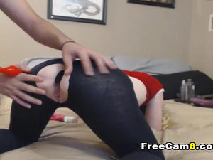 Hard Face Fucking and Ass Toying