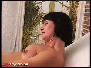 preggo wife filled with milk
