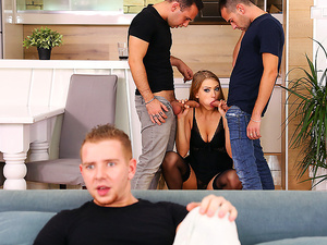Euro Sex Parties – Filling Every Hole