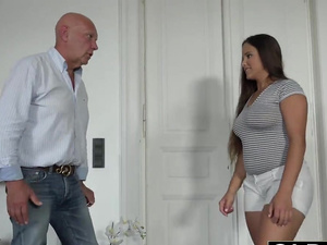 Young Old Porn Teen Big Natural Tits Fucked and facialized after hot sex