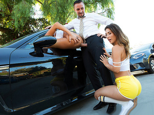 Brazzers – Pulled Over Pussy
