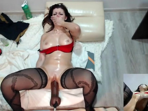 Monstercock Machine and Squirt - Best Free Cams at 8CAMS,COM
