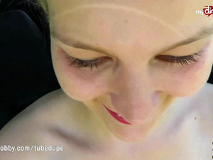My Dirty Hobby - Hot outdoor fuck and facial