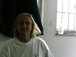Nasty Old Whore Smokes and Gobbles My Balls