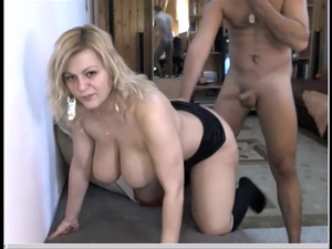Mature cougar with big tits fucked