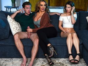 Brazzers – Mind If Stepmom Joins You?