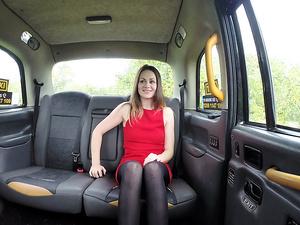 Horny blonde Star Del Ray sucks and fucks taxi driver John
