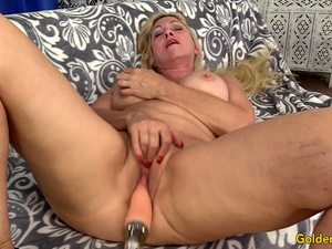 Mature Cala Craves Has Sex with a Machine