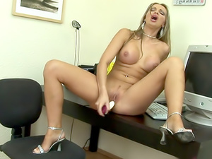 Toying on the desk