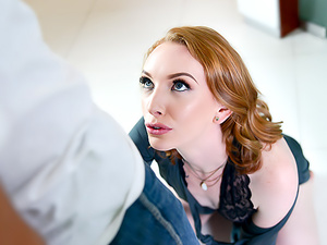 Raunchy Redhead Family Gets Seductive