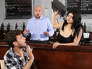 Coffee Shop Confrontation
