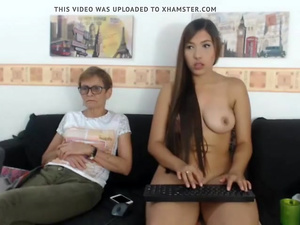 Mom and Daughter Show Off - Watch Part2 on CAM26,COM