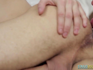 A Horny Guy Drills Lover's Butt