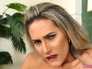 Seductive Transsexual Bella Atrix Masturbates with Sex Toys