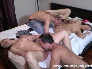 Young Sex Parties - Rita Milan - Taissia Shanti - Sex party swinging