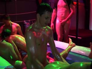 extreme slippery groupsex orgy